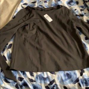 Ann Taylor blouse grey NWT size M